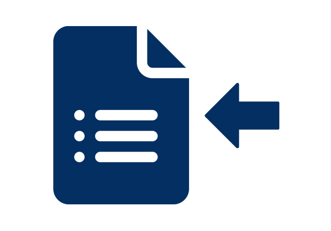 Receive Claim Forms Icon