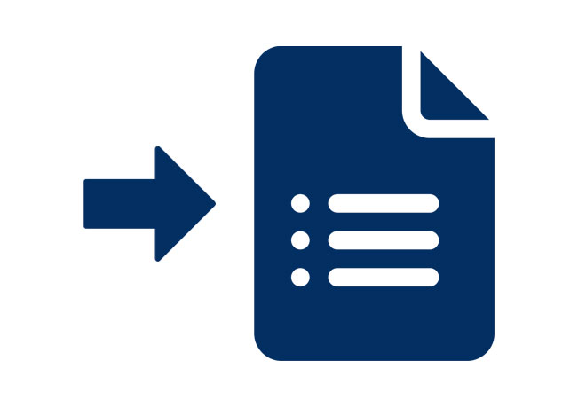 Return Claim Forms Icon
